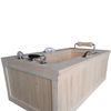 Premium Hinoki Cypress Wooden Massage(Whirlpool) Bathtubs