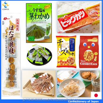 Hot-selling and Various types of japanese seafood importers confectionery at reasonable prices