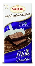 Milk chocolate no added sugars 100g