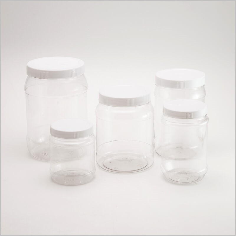 2017 PET cosmetic jar wide mouth plastic jar with screw cap-Skype: thao.huynh55; mail huynhthithanhthao@duytan.com