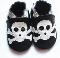Infant leather baby shoes child leather baby shoes