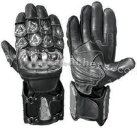 Good Quality Professional custom Leather Motorbike Gloves