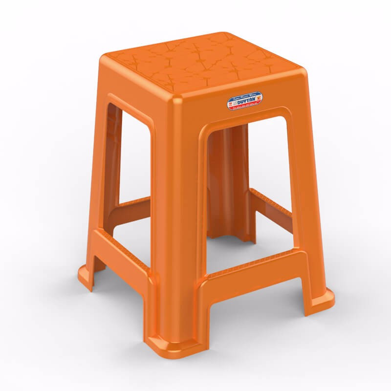 Plastic Chair Plastic Seat Housewares Furniture Stool Home Application Household Use