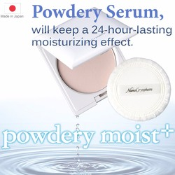 Safety and portable skin moisturizing product powdery serum for all skin made in Japan