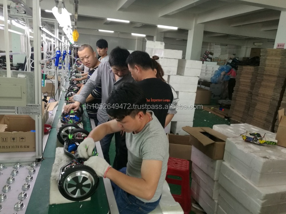 2 Wheel Hoverboard Self Balance Scooter Pre-Shipment Inspection in China