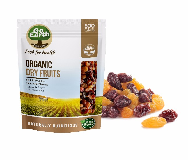 Organic High Quality Raisins From Apeda Certified Company!