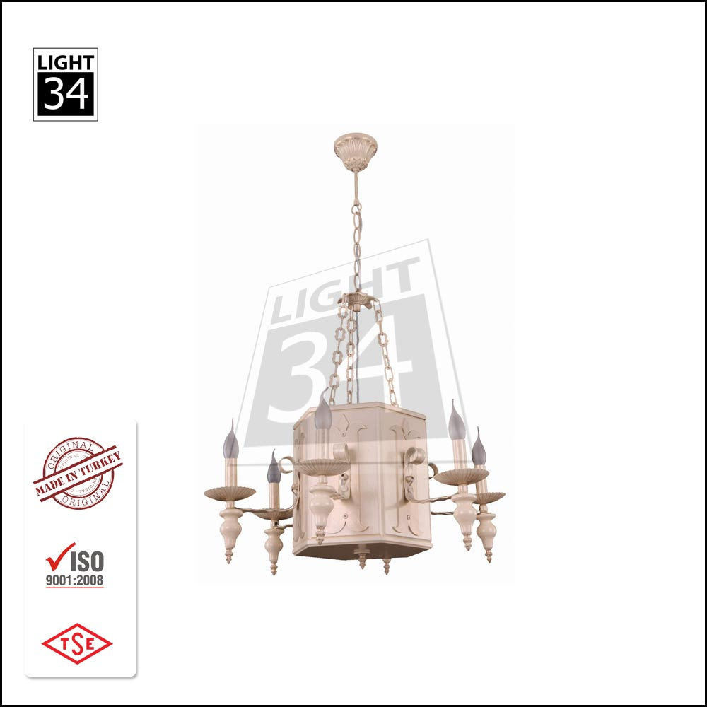 Decorative Chandelier Light Wholesale Pendant Light Wooden Lampshade