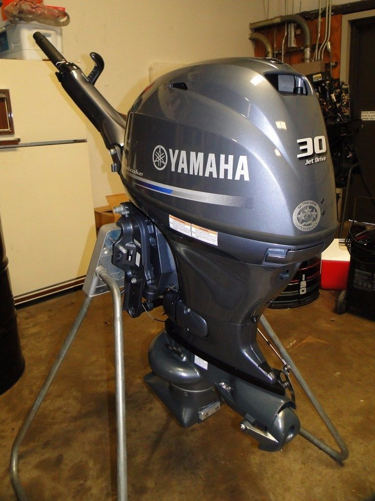 FREE SHIPPING FOR USED YAMAHA 30 HP 4 STROKE OUTBOARD MOTOR