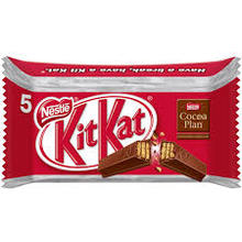 kit kat chunky white, caramel,hazelnut cream