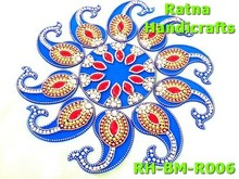 Ratna handicrafts Exclusive RED-SHUBH Rangoli RH-BM-R006