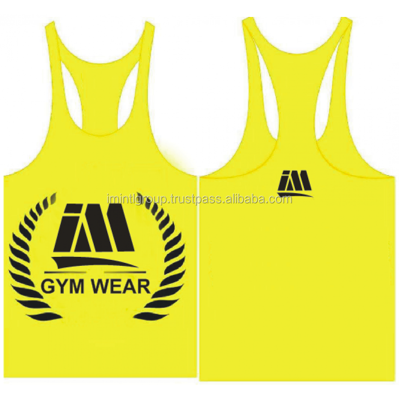 Custom Brand Logo Active fitness OEM factory top tank, gym vest, fitness clothing