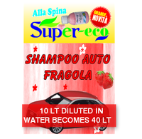Shampoo strawberry for cars - CONCENTRED AT 25% - SUPERECO