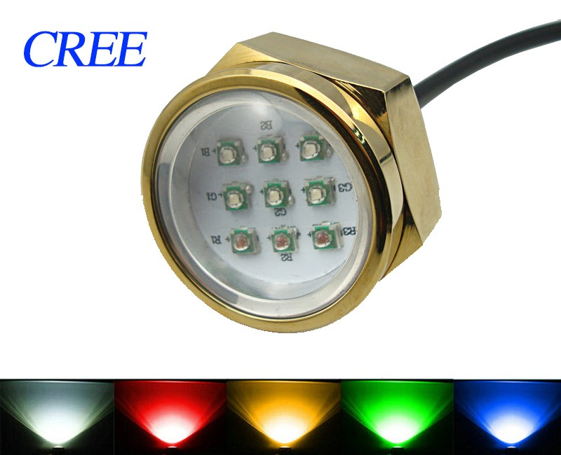 LOVE Best Drain Plug Light sailing fountain swimming pool light rgb ip68 aquarium marine accessories underwater led boat light