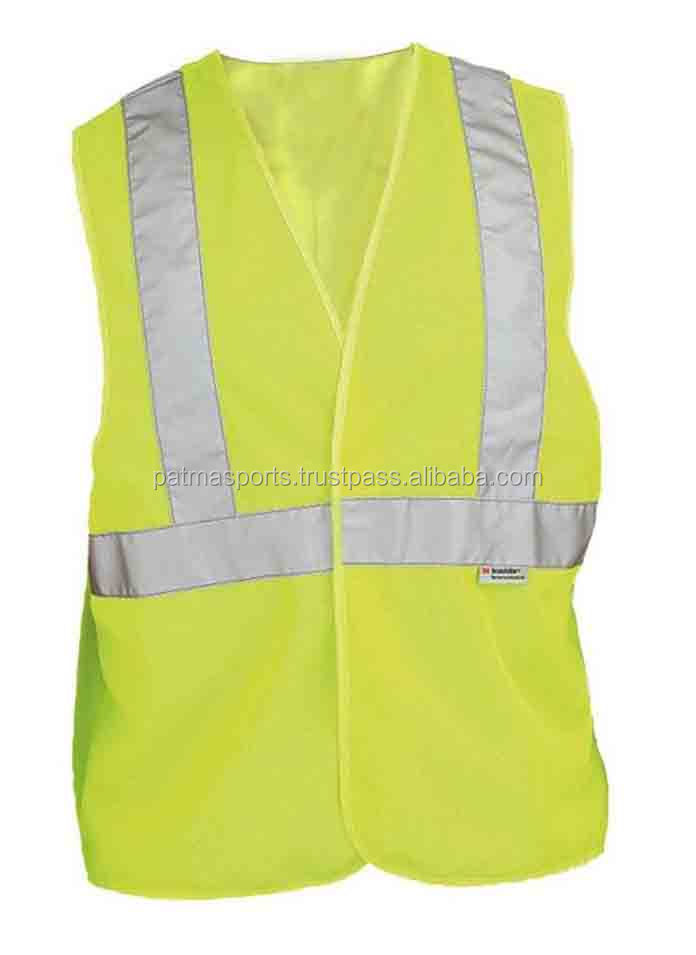 Wholesale Low Price Red Color Manufacturer Reflective Safety Vest