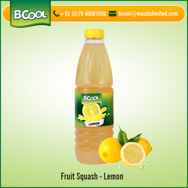 2017 Best Selling Delicious Lemon Flavor Fruit Squash at Attractive Price