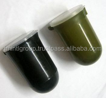 Black and Army color 50 Rounds Paintball Pods, paintball plastic pod best quality