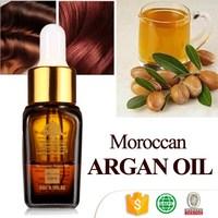 Organic csmetic natural grow care hair oil