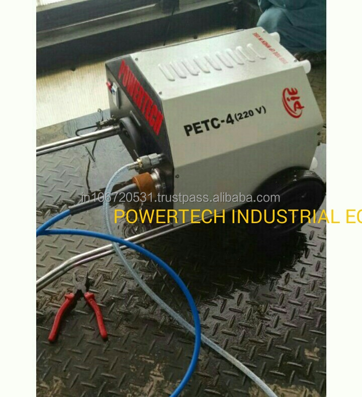 Chiller Tube Cleaning Machine