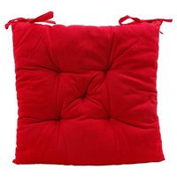 Store Indya Red Seat Cushion Pad Mat for Office Chair Car Seat/Wheelchair Support Pillow