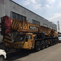 Kato NK1600 used truck crane for sale, kato 160ton crane in Japan