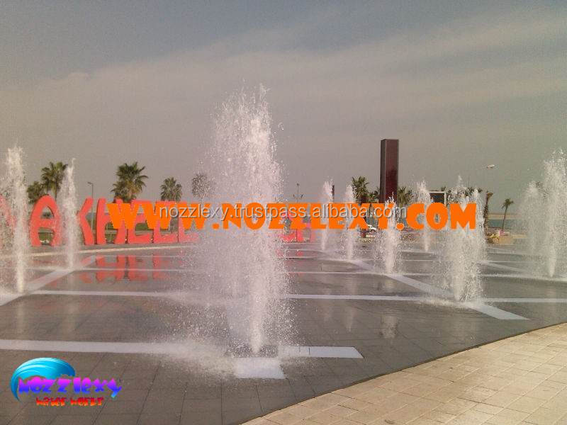 Square Outdoor Big Water Fountain Big Outdoor Jumping Water Dancing Fountain Jumping Jet Dry Fountain