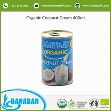 ACO/USDA/KOSHER Certified Pure and Fresh Organic Coconut Cream for Sale