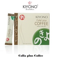 Kiyono Collagen Coffee for slimming, diet, healthy for man and woman