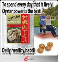 Nutritious and Reliable most popular items Oyster extract with Effective for durable body making made in Japan