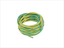 PVC COATED COPPER CABLE (YELLOW GREEN CU WIRE) MADE IN TURKEY