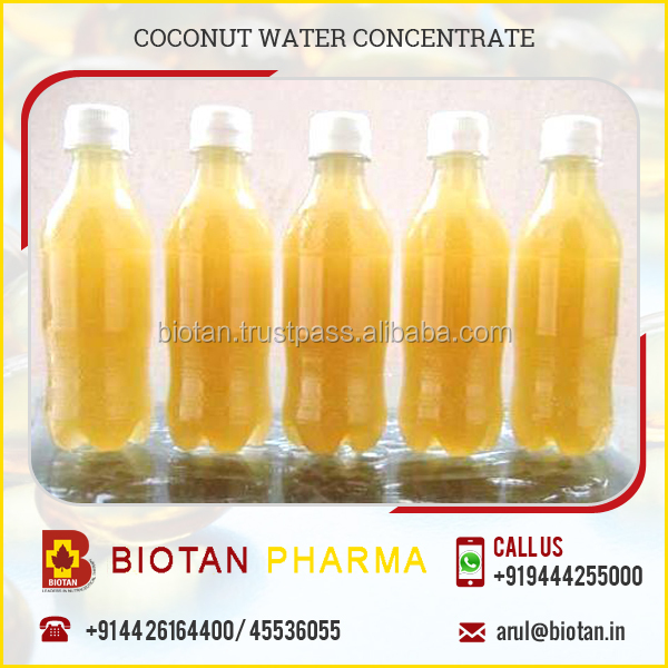 Harmless Organic Fresh Concentrated Bottled Coconut Water Available in Bulk Price