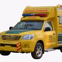 Toyota Hi Lux Ambulance Box Type