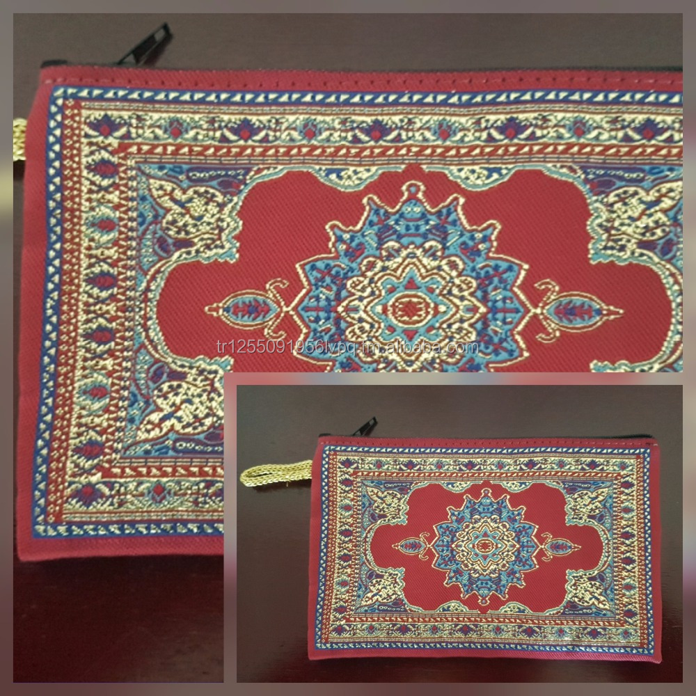 Authentic Wallet, Anatolian Carpet Design Purse