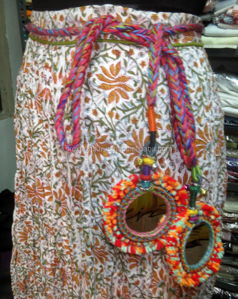 Indian Handmade Girls Banjara Waist Belt Women Boho Hippie Gypsy Belly Dance Belt