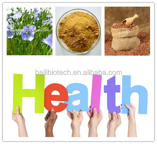 Alibaba natural nutritional best price Flax Lignans hull for your health