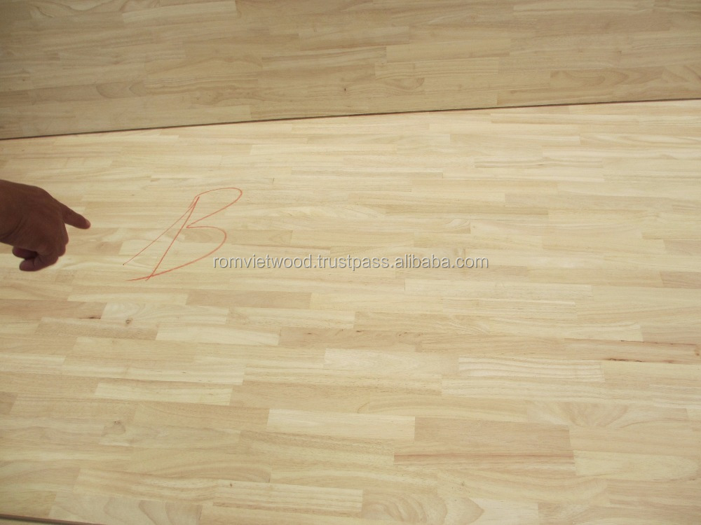 AB Grade Side Rubber FJ Board/ Laminated wood