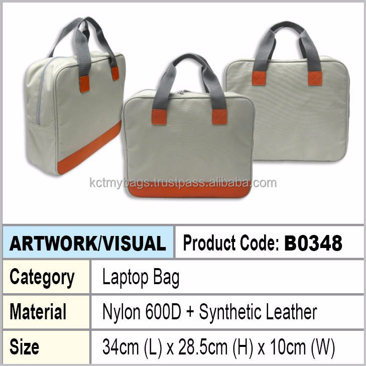 PU Leather Document Laptop Bag