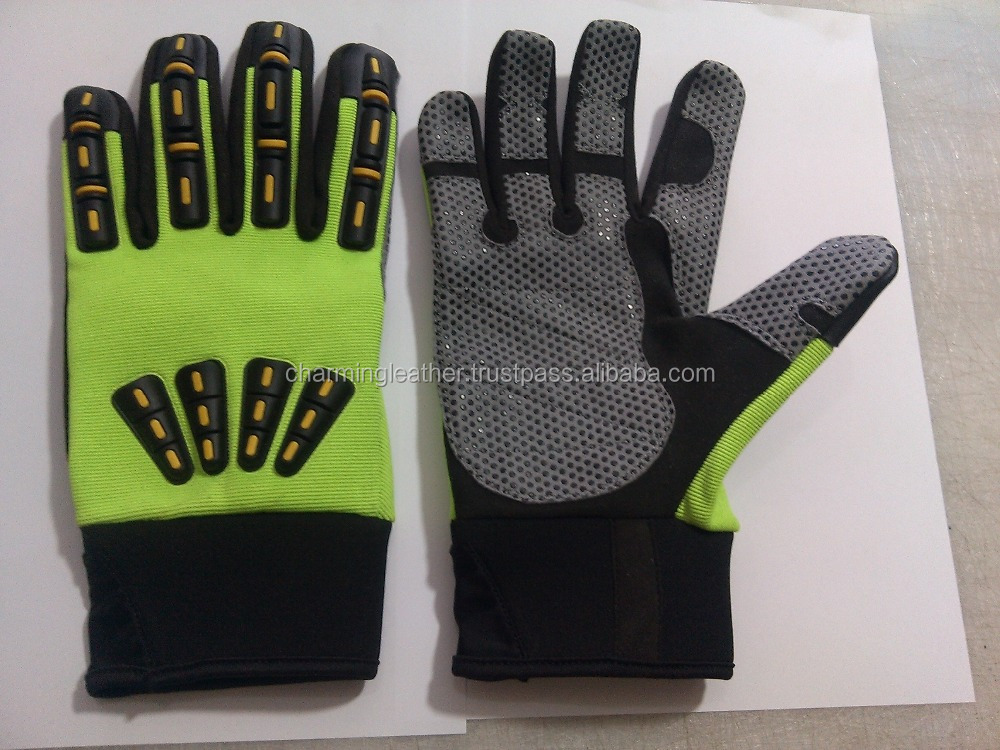 Superior Quality Mechanic Work Gloves/oil and gas hand safety mechanic glove
