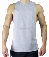 wholesale price best sold gym stringer deep armhole muscle cut tank top