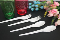 CHEAP Plastic spoons disposable / white plastic disposable spoons. LESS THAN USD0.03 PER PIECE!