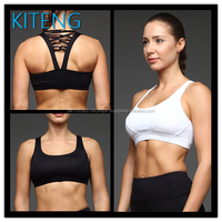 Kiteng sexy hot girl yoga bra with straps crisscross on the back Office In Unite State (USA)