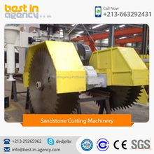 High Quality Sandstone Cutting Machine with 4 Vertical Cutting Blade And 2 Horizontal Cutting Blade