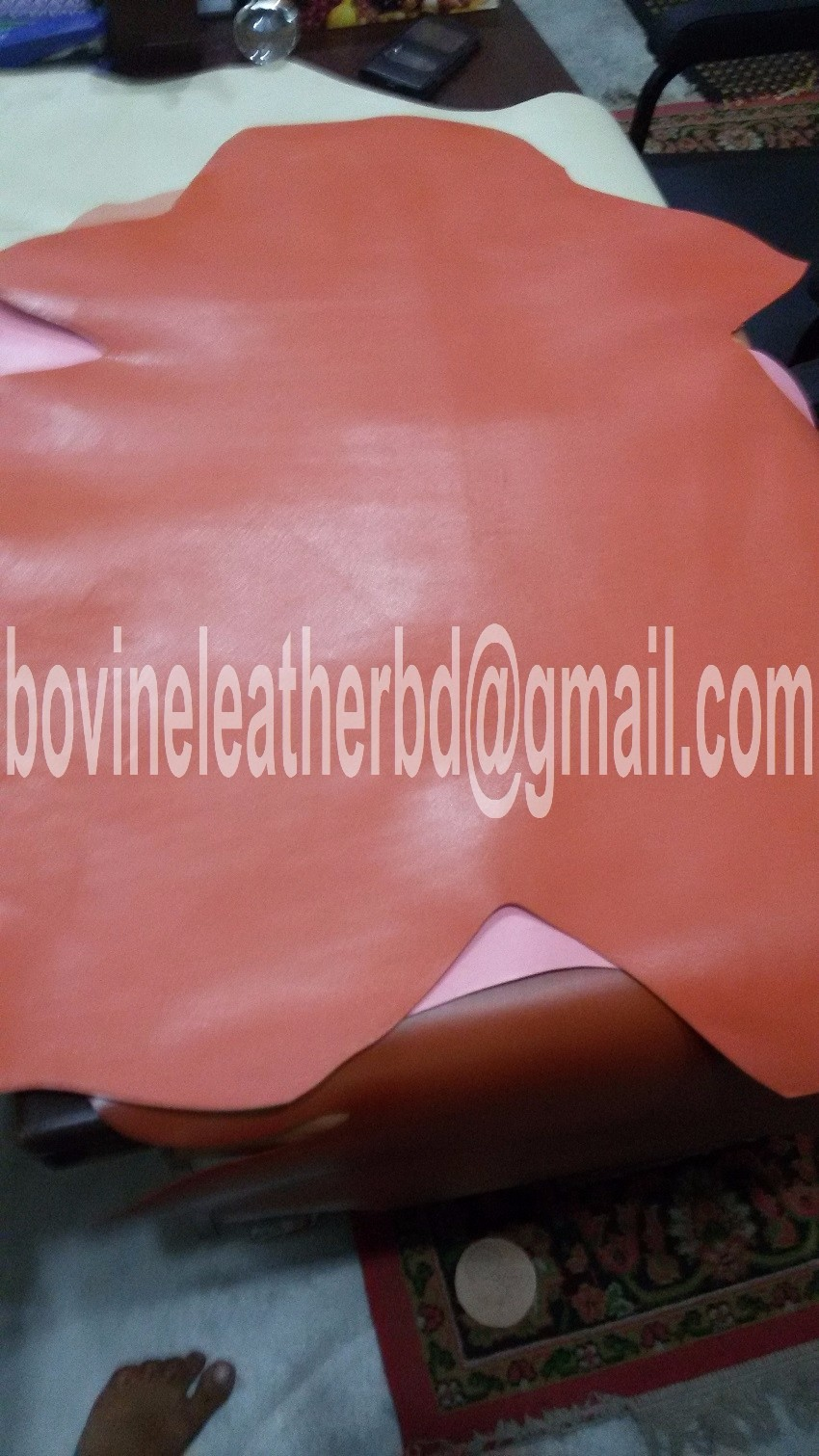 Goat finished leather cheap price & Low price Goat finished leather & Cheap Goat Colorful Finished leather
