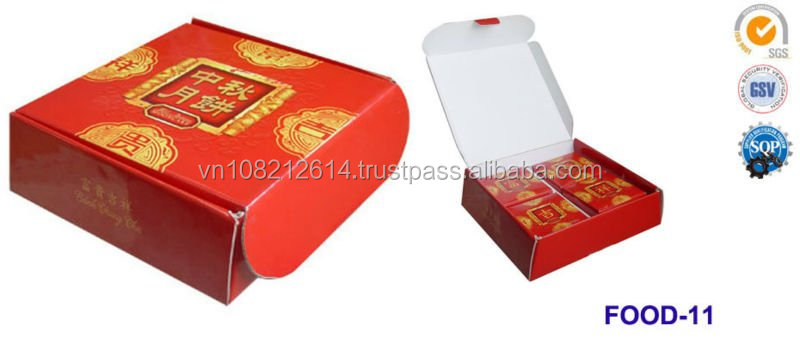 moon cake box design, food box, packaging box