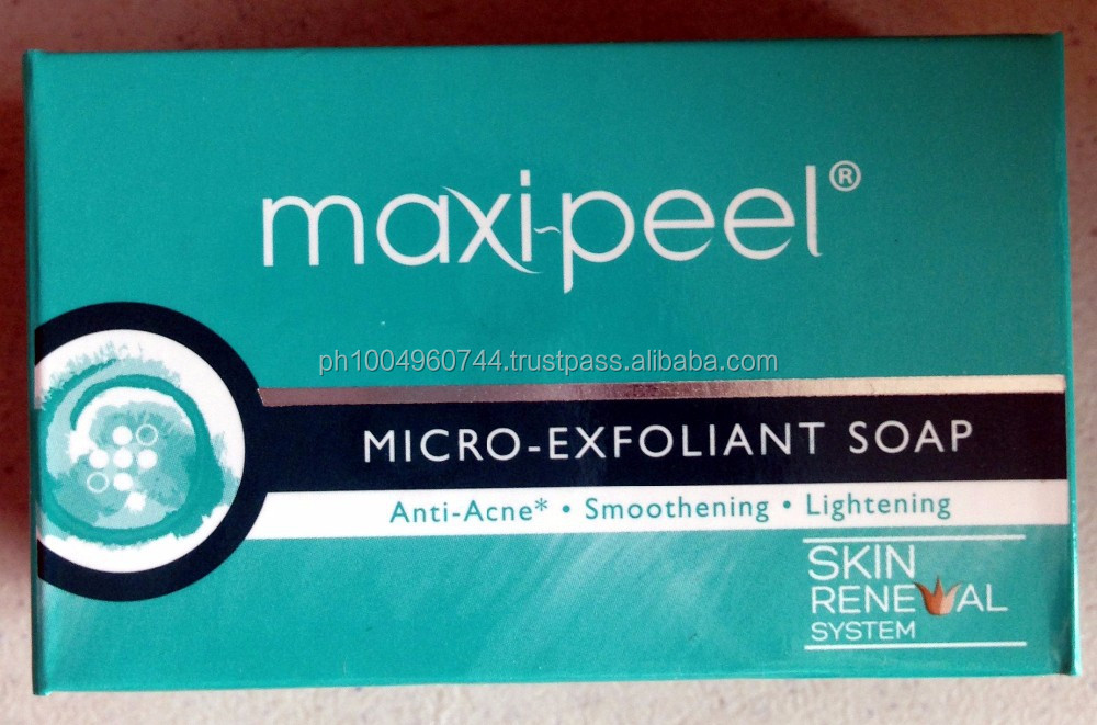 20 Maxi Peel Intense Whitening Exfoliant Anti Acne Soap