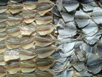 Dried Yellow Stripe Trevally