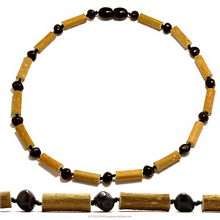 Baltic amber/hazlewood baby teething necklaces wholesale
