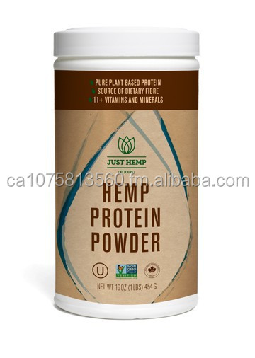 Hemp Protein - 50% Protein Powder - Product of Canada
