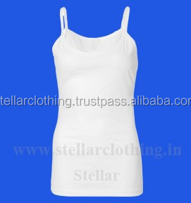 100% knitted silk camisole