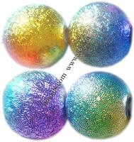 Stardust Plastic Beads Round colors Grade A 5mm Hole:Appr 1mm 9075PCs/Bag Sold By Bag