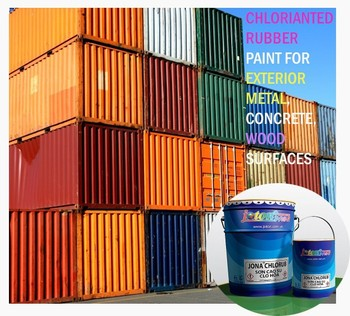 Chlorinated Rubber Paint Waterproof Heat Resistant For